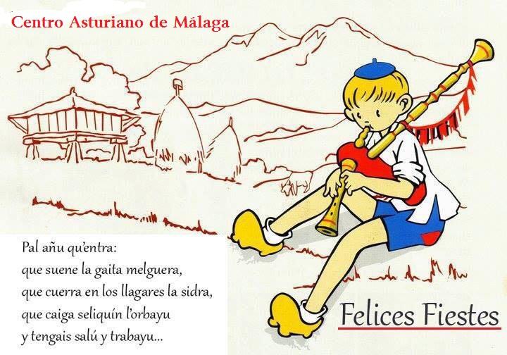 Felicitación Navidad Centro Asturiano de Malaga